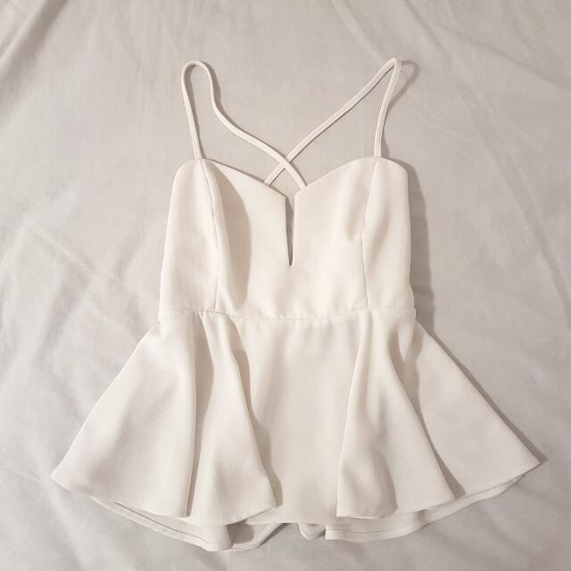The Fifth Label White Party Top