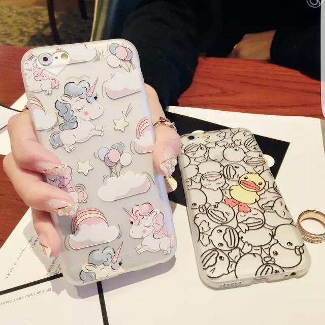 Unicorn Pastel Case/Yellow Ducky Case