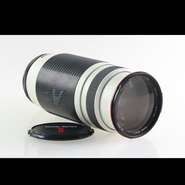 Vivitar (Canon Mount) 100-400mm AF 1:4.5-5.6 Series 1