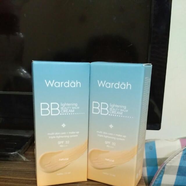 Wardah BB Lightening Beauty Balm Cream 15 Ml