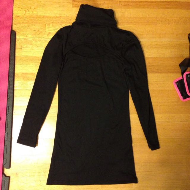 Winter Bodycon Dress With Cutout