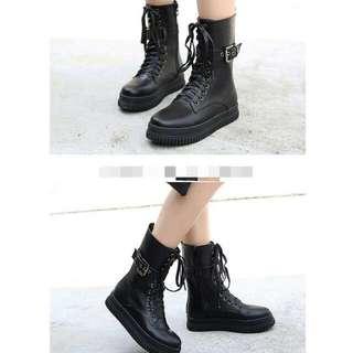 內刷毛保暖個性短靴
