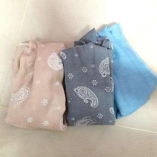 Wide Shawl Cotton (3 for RM10)