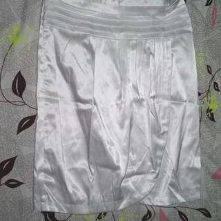 silk skirt, small