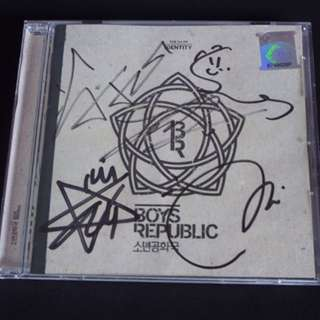[SIGNED] BOYS REPUBLIC 1st Mini Album IDENTITY (MALAYSIA VER. CD)