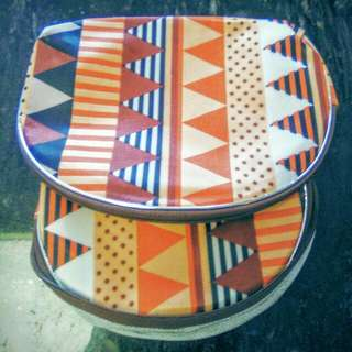 Two Ethnic Print Wallets