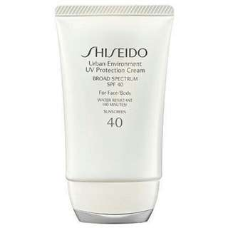 Shiseido Sunscreen SPF 40