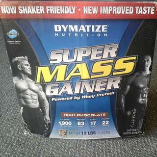 Super Mass Gainer (Dymatize Nutrition) 12LBS (5,433g)