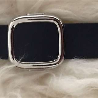 Brand new Apple Watch leather 38MM Midnight Blue Size L
