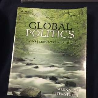 Global politics (fifth Edition)