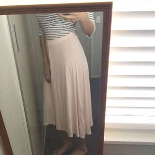 New blush skirt