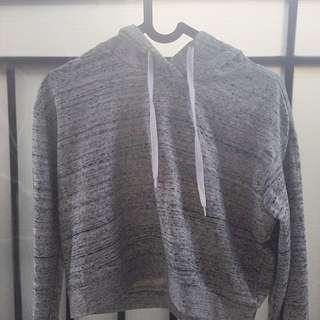 h&m hoodie crop