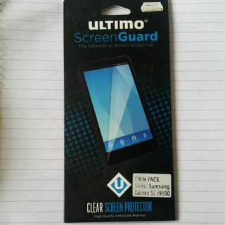 New Screen Protector x2 for Samsung Galaxy S2