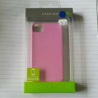 Brand New Unopened Pink Iphone 4/4s Case