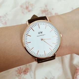 Daniel Wellington Rose Gold Watch - Replica