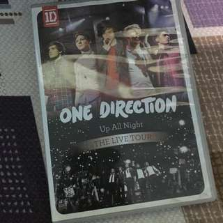 One Direction: The Up All Night Tour DVD