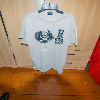 Ralph Lauren White T-shirt Limited Edition (Large Mens)