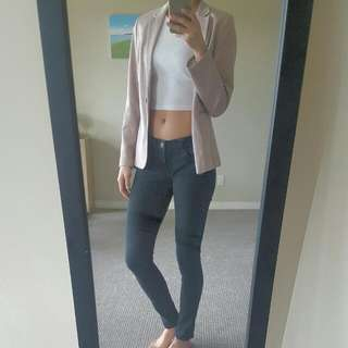 Mauvy Pink Blazer