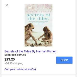 Brand New Never Touched Secrets Of The Tides Book