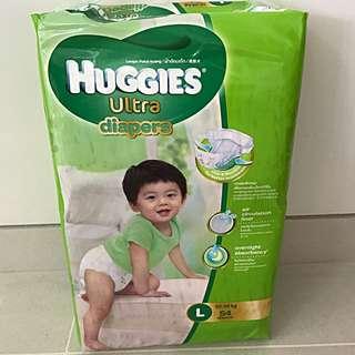 Huggies Ultra Diapers - Large