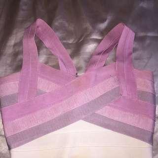 Tigermist Purple Bandage Crop