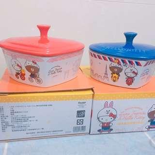 Hello Kitty聯名款 烤盤 碗
