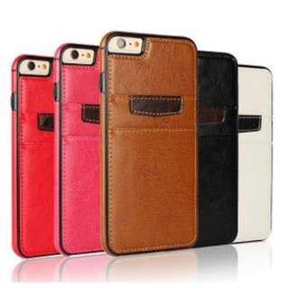 Iphone 6 And Iphone 6 Plus Case With Card Slot