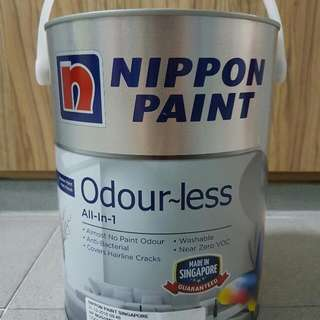 Nippon paint Odorless All In One