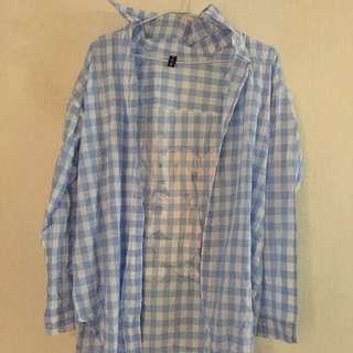 藍格子襯衫👕