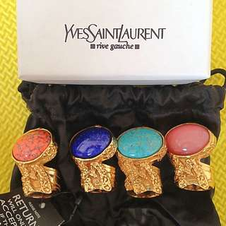 Authentic YSL arty ring size 5 &6