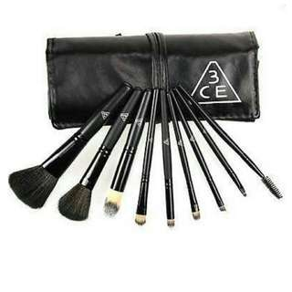 3CE Professional Eyeshadow/lip Brush Fiber Hair Mkeup Brush Kits