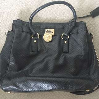 Michael Kors Black Hamilton Bag