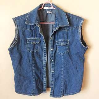 Old Navy denim top (Reserved)