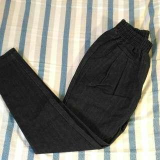 單寧牛仔 休閒褲 修身版型