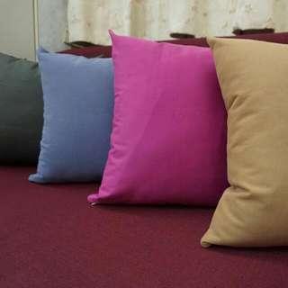 素色抱枕/抱枕套/腰枕/靠墊