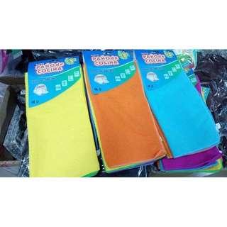 CU-超細纖維短毛抹布 擦手巾 萬用巾