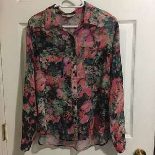 Floral Burton Up