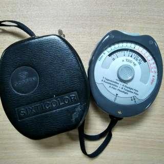 Vintage Gossen Sixticolor Temperature Meter