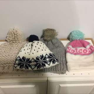 4 Hats - $10