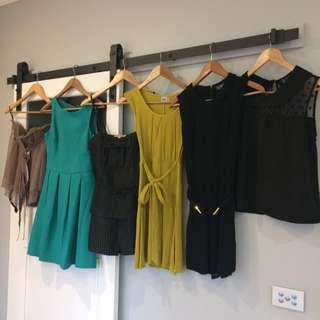Bundle Of Women's Clothes Marcs Asos H&M Xs 8 6