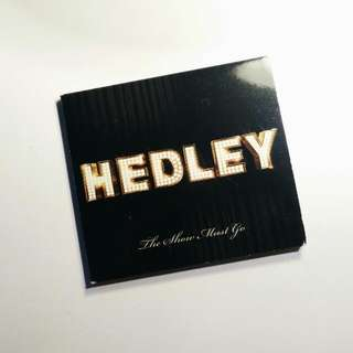 Hedley The Show Must Go CD Album