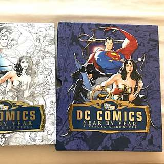D.C. Comics Visual chronicle: Collectors Edition 75th anniversary