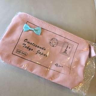 Ettusaiss艾杜莎郵差化妝包+便條磁鐵組