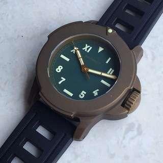 Maranez Bangla 44 brass watch