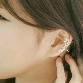 【正韓飾品】水鑽耳夾