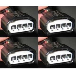 4x Ignition Coil Plug Harness 90980-11885 Fits Toyota Lexus Camry Corolla Rav4