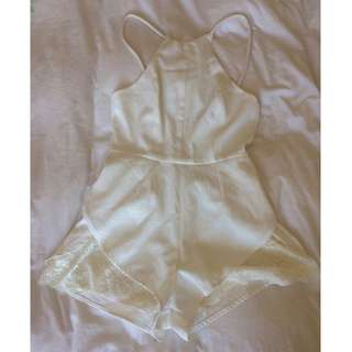 White City Beach Playsuit Size 10