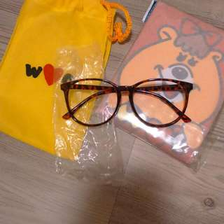 WC熊 眼鏡