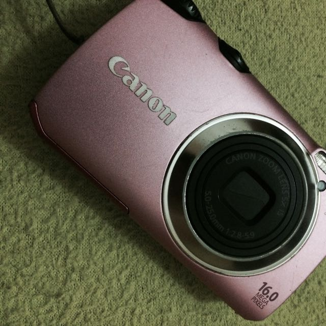 16mp Canon Digicam A3300IS