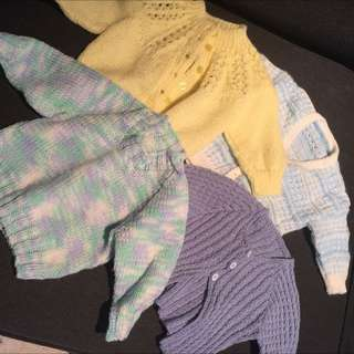 Baby boy/girl knitted jumpers 4 for $30